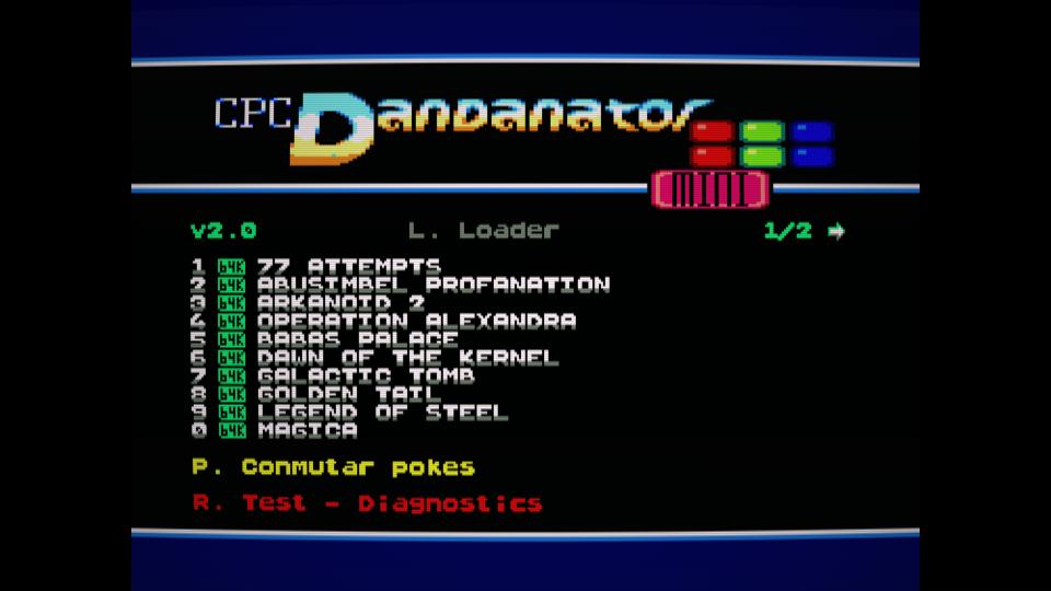 Colección de ROMS para Dandanator y DES 23