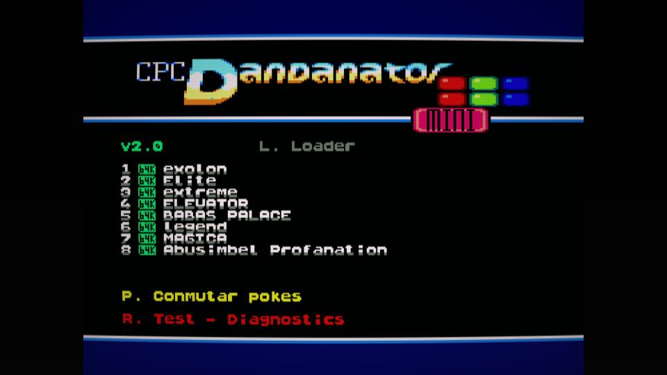 Colección de ROMS para Dandanator y DES 13