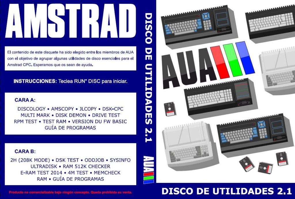 AUA Utilidades 2.1 - Nueva compilación de software para Amstrad 21