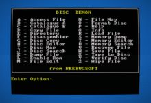 Photo of Disc Demon, gestión de disquetes a lo grande en Amstrad CPC