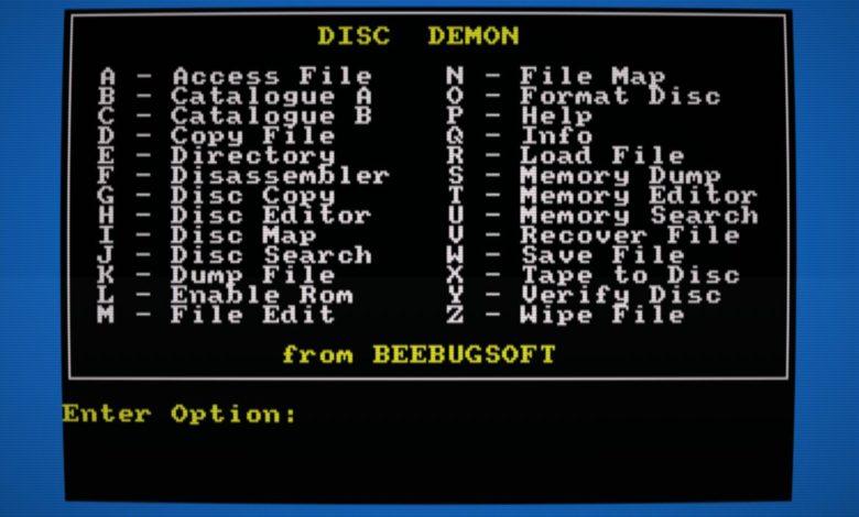 Disc Demon, gestión de disquetes a lo grande en Amstrad CPC 1
