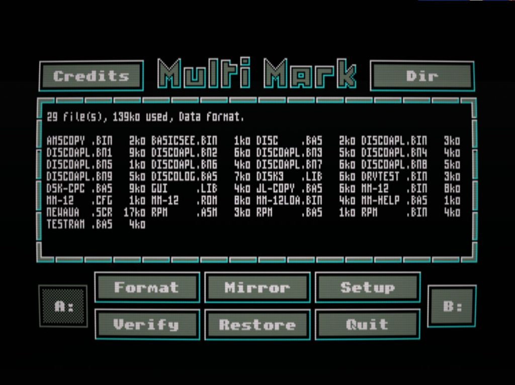 Multi Mark: tal vez el mejor formateador de discos 2