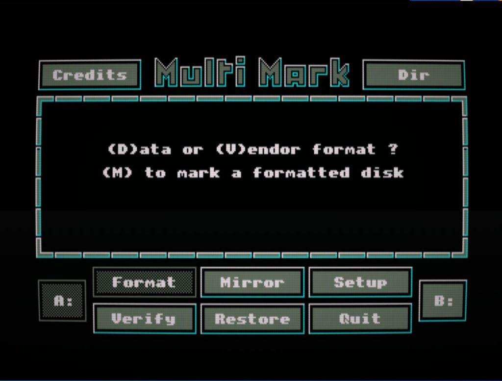 Multi Mark: tal vez el mejor formateador de discos 3