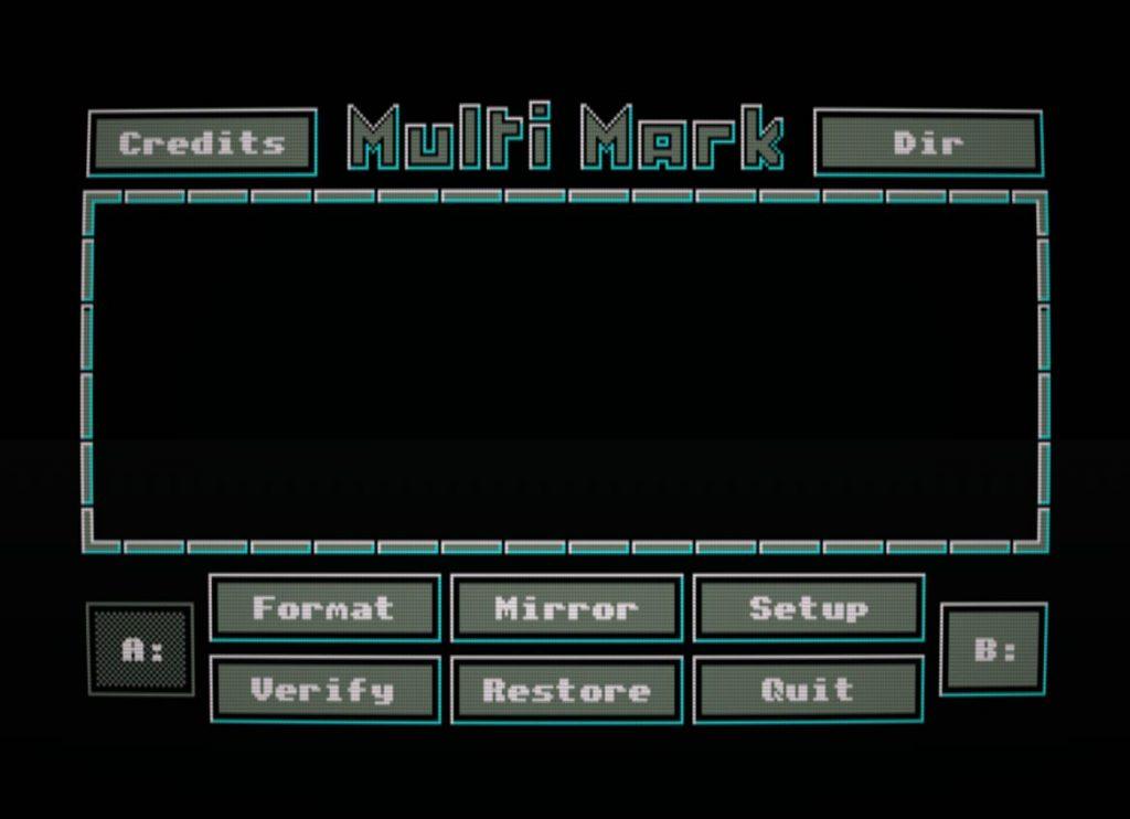 Multi Mark: tal vez el mejor formateador de discos 1