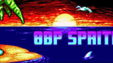"""8BP: Movimiento de sprites """"en bloque"""" con lógicas masivas 3"""