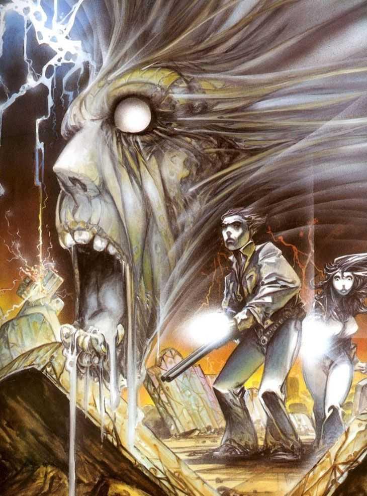 Zombie, portada original de Azpiri