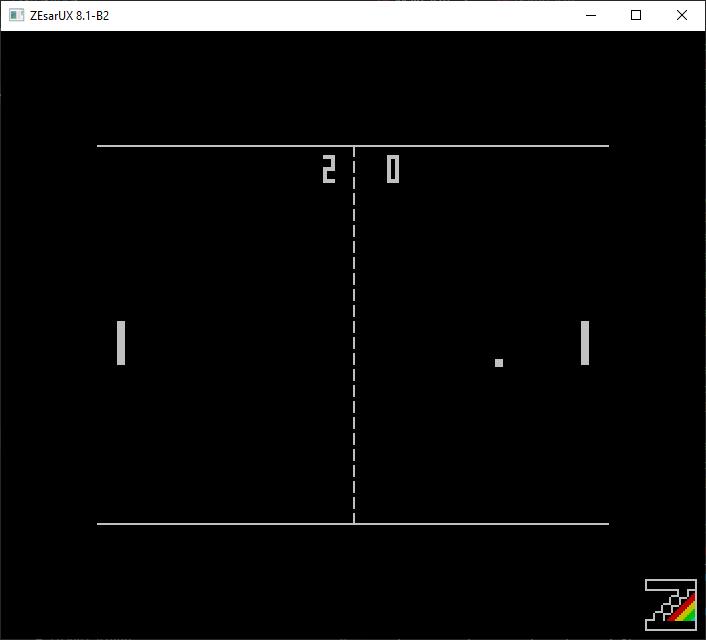 Ensamblador para ZX Spectrum, ya tenemos marcador funcional