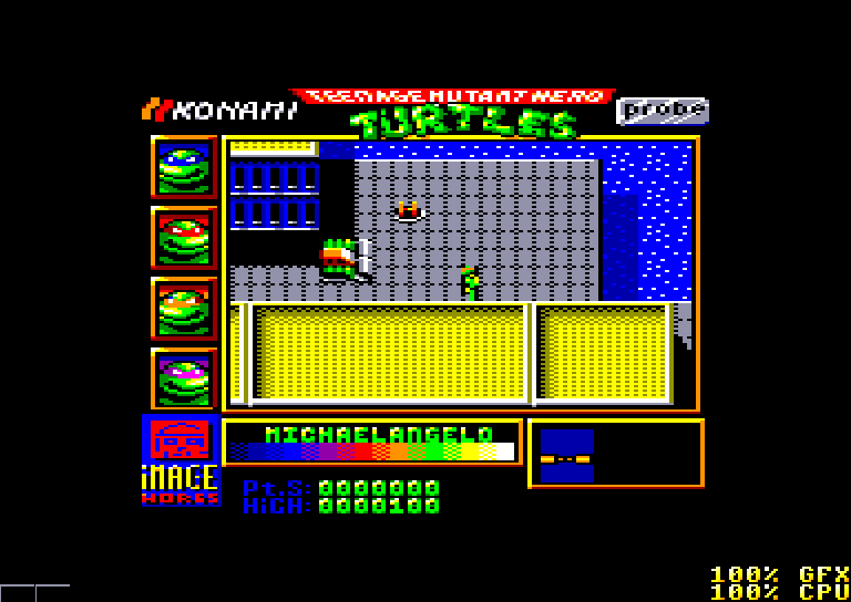 Teenage Mutant Hero Turtles, contra el malvado Shredder 2