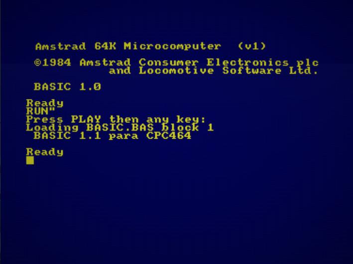 Emuladores en Amstrad CPC 8