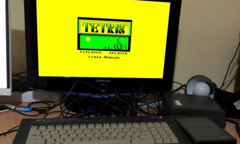 Photo of GB Tetris emulator para tu Amstrad CPC6128
