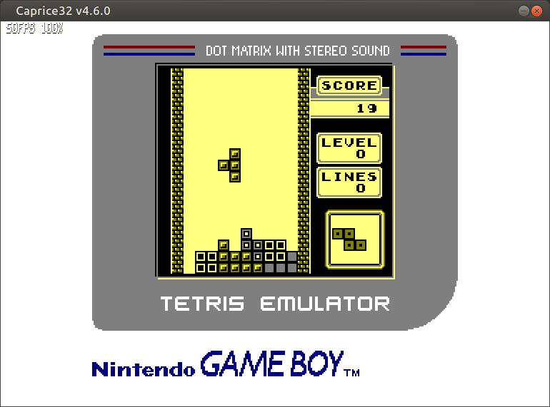 GB Tetris emulator para tu Amstrad CPC6128 2