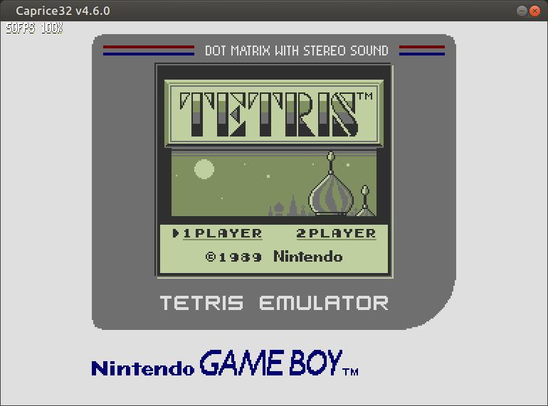 GB Tetris emulator para tu Amstrad CPC6128 3