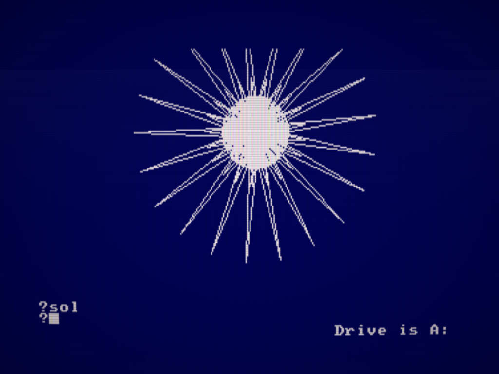 Como ejecutar y usar DR Logo en Amstrad CPC 3