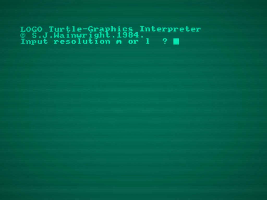 Como ejecutar y usar DR Logo en Amstrad CPC 4