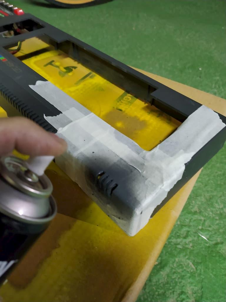 Reparar rejilla rota de Amstrad CPC 464 4