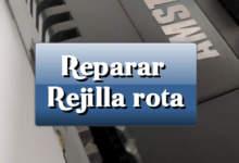 Reparar rejilla rota de Amstrad CPC 464 18