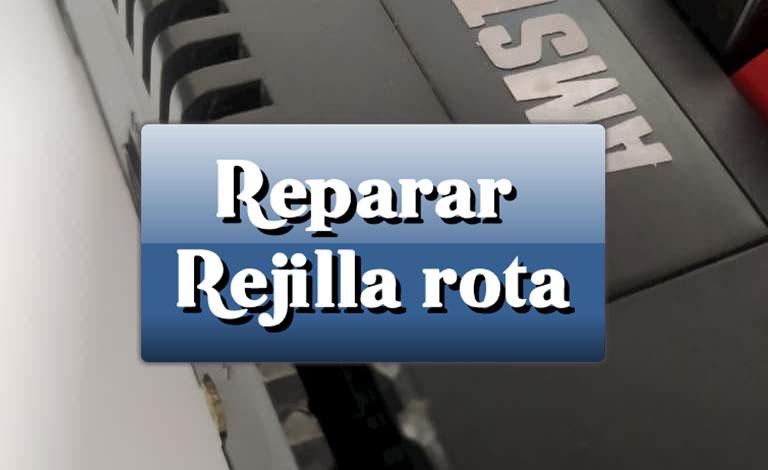 Reparar rejilla rota de Amstrad CPC 464 1