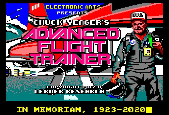 Chuck Yeager in memoriam