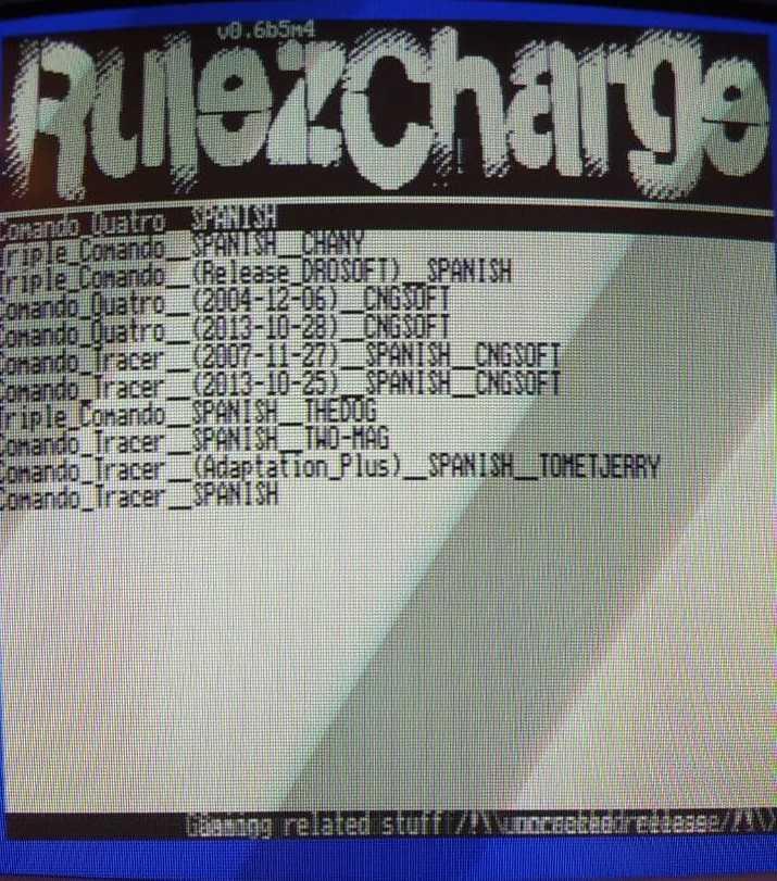 RulezCharge, nuevo front-end para la M4 3