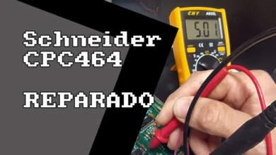 Schneider CPC 464 REPARADO, la pantalla de la muerte 7
