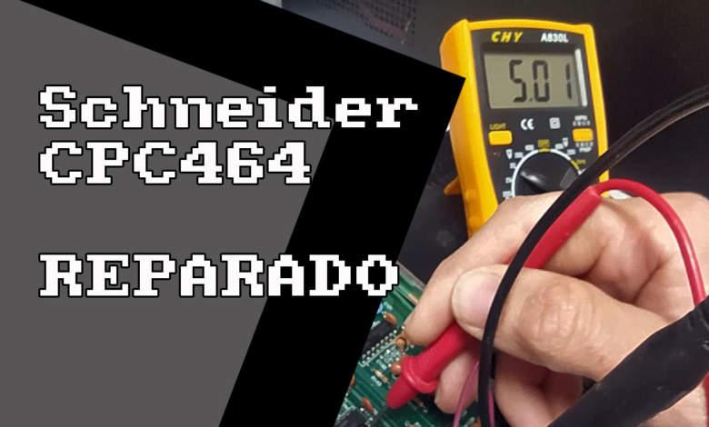 Schneider CPC 464 REPARADO, la pantalla de la muerte 6