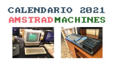 Feliz 2021 y pon tu contador a cero con el nuevo calendario Amstrad 2