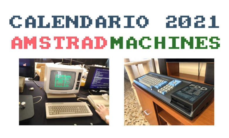 Feliz 2021 y pon tu contador a cero con el nuevo calendario Amstrad 1