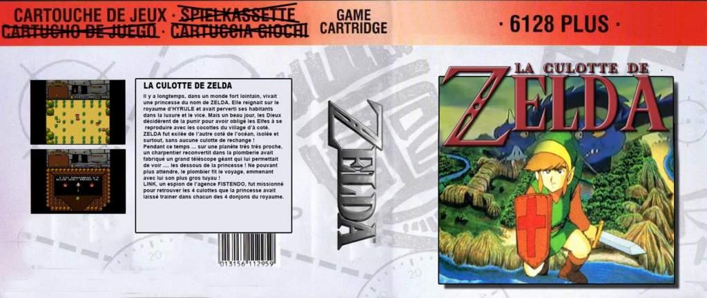 La Culotte de Zelda para CPC Plus se deja ver 3