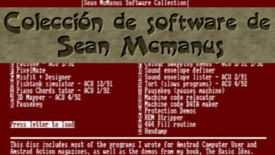 Sean McManus, colección de software 10