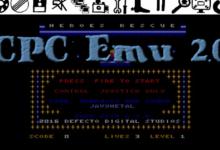 CPCEmu 2.0, el regreso del veterano emulador de Amstrad CPC 13
