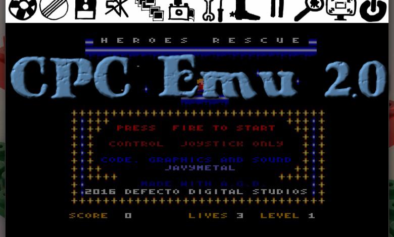 CPCEmu 2.0, el regreso del veterano emulador de Amstrad CPC 1