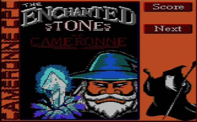 The enchanted stones of Cameronne 1