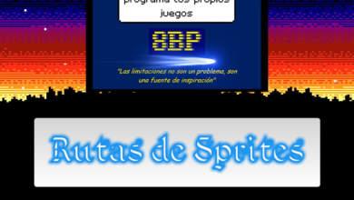 8BP: Rutas de sprites con lógicas masivas 4