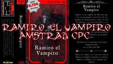 Ramiro, el Vampiro se podrá jugar en CPC 10