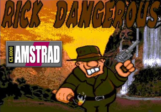 Nuevo Rick Dangerous para GX4000 en proceso 25