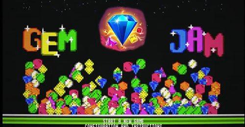 GemJam, un clon de Bejeweled para CPC 27