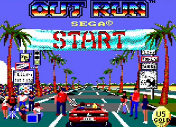 Remake de la versión CPC de OutRun 1