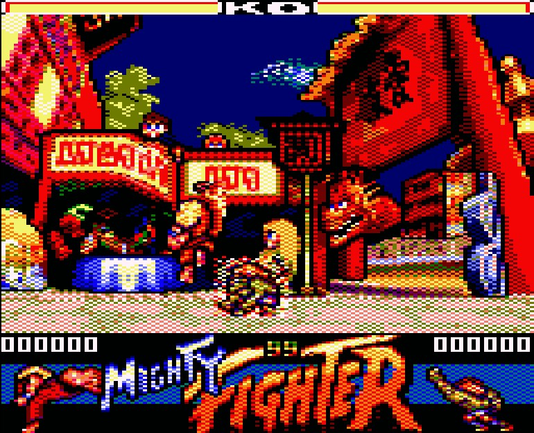 mighty street fighter