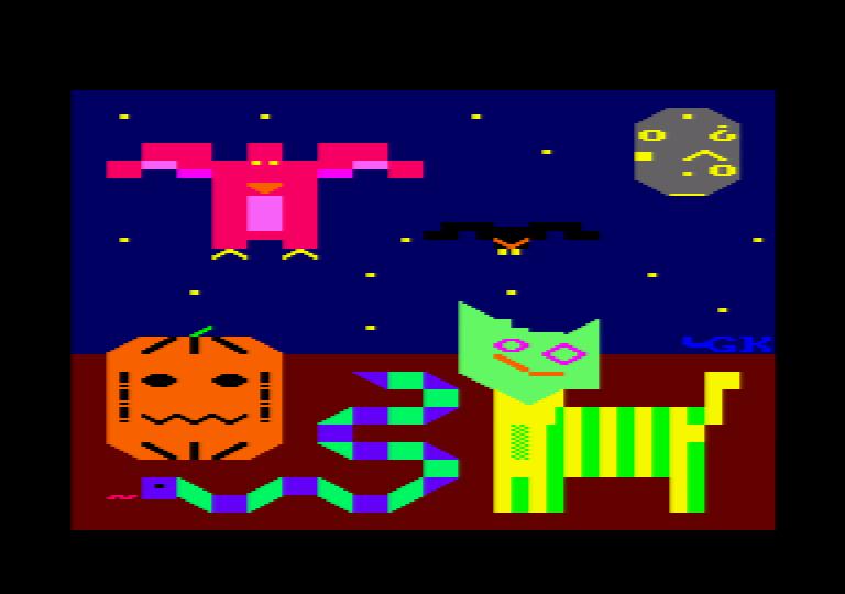 1st Amstrad ASCII Compo 4