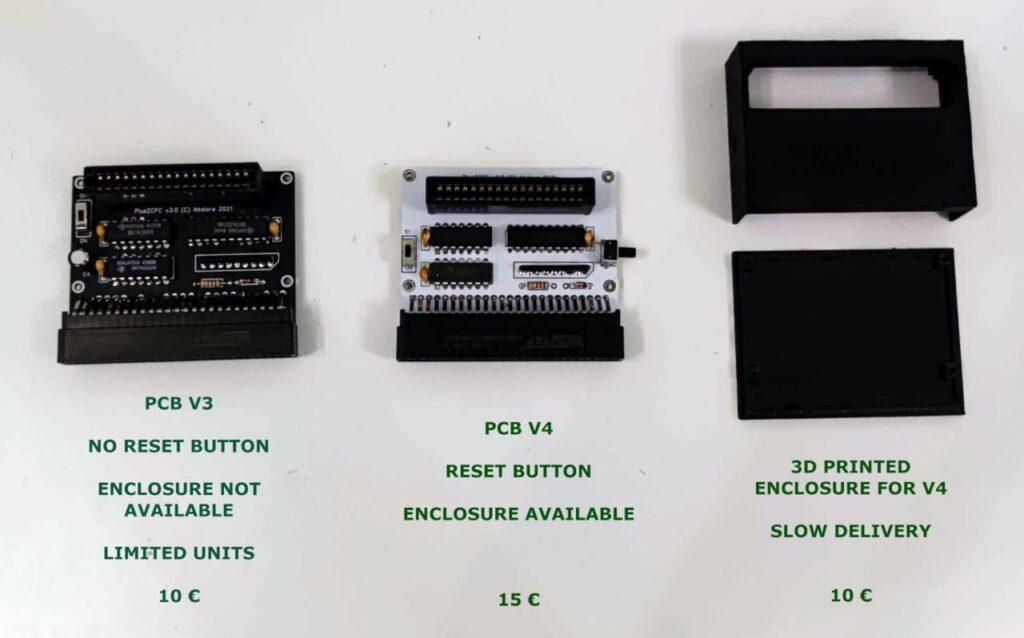 Plus2CPC, cartuchos de CPC Plus en tu CPC 5