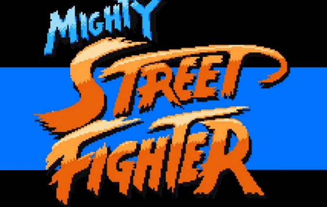 Mighty Street Fighter 1