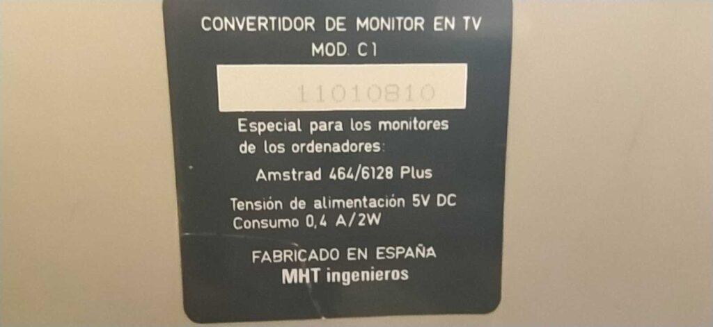 Rescatando los sintonizadores TV Amstrad 3