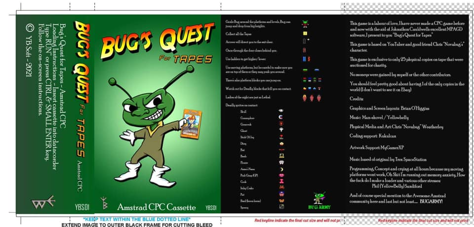 Bug's Quest for Tapes 4