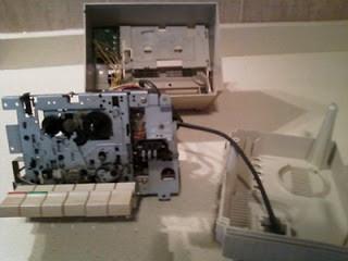 Sony® Bit-Corder SDC-600S, desmontado