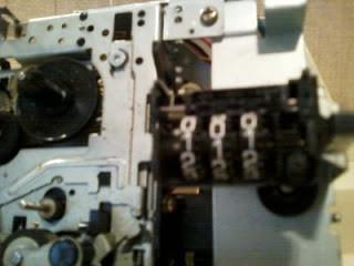 Sony® Bit-Corder SDC-600S, cuentavueltas