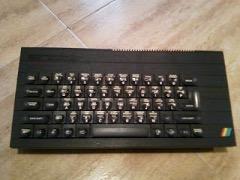 Cambiar la membrana, el ZX Spectrum+