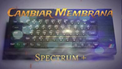 Cambiar la membrana a un ZX Spectrum+ 8