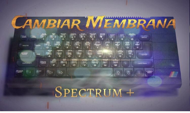 Cambiar la membrana a un ZX Spectrum+ 1