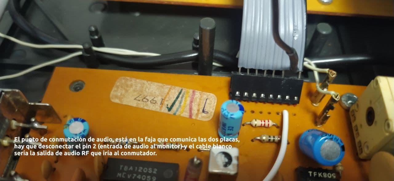 Rescatando los sintonizadores TV Amstrad 16