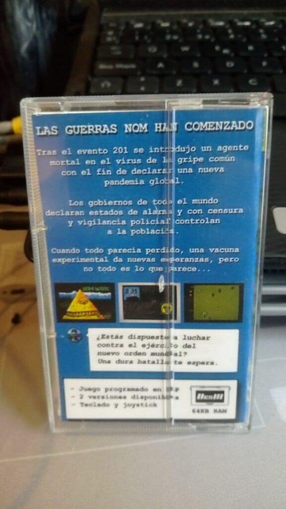 NomWars, edición física en formato DES 3